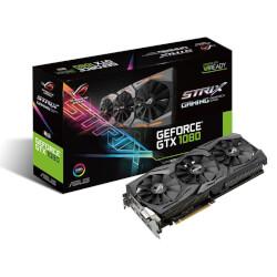 TARJETA GRAFICA ASUS ROG-STRIX-GTX1080-8G-GAMING 8GB GDDR5X PCIE3.0 HDMI | Quonty.com | 90YV09M1-M0NM00