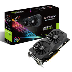 ASUS STRIX-GTX1050TI-O4G-GAMING 4GB GDDR5 PCIE3.0 | Quonty.com | 90YV0A30-M0NA00