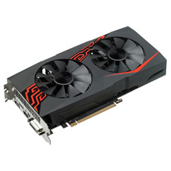ASUS EX-RX570-O4G 4GB GDDR5 HDMI PCIE3.0 | Quonty.com | 90YV0AI0-M0NA00
