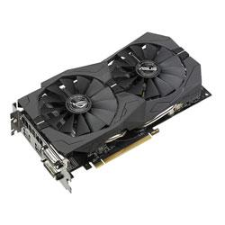 TARJETA GRAFICA ASUS ROG-STRIX-RX570-O4G-GAMING 4GB GDDR5 PCIE3.0 HDMI | Quonty.com | 90YV0AJ0-M0NA00