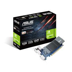 TARJETA GRAFICA ASUS GT710-SL-1GD5 1GB GDDR5 PCIE2.0 HDMI SILENT | Quonty.com | 90YV0AL0-M0NA00