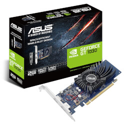 TARJETA GRÁFICA ASUS GT1030-2G-BRK GT1030 2GB GDDR5 PCIE3.0 HDMI LP | Quonty.com | 90YV0AT2-M0NA00