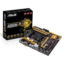 PLACA ASUS A88XM-PLUS FM2 4DDR3 HDMI PCX3.0 SATA3 USB3.0 MATX | Quonty.com | 90MB0H50-M0EAY0