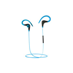 AURICULARES C/MICROFONO COOLBOX COOLSPORT BLUETOOTH AZUL | Quonty.com | COO-AUBS6-BL