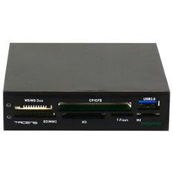 MULTILECTOR INTERNO 3.5'' TACENS ANIMA ACR2 TARJETAS FLASH / USB3.0 | Quonty.com | ACR2