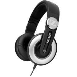 AURICULARES SENNHEISER HD 205 II DJ NEGRO | Quonty.com | 504292