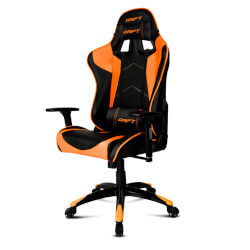 Silla Gaming Drift Dr300 Negro/Naranja   Quonty.com   DR300BO