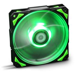 VENTILADOR 120X120 NOX HFAN 120 LED VERDE | Quonty.com | NXHUMMERF120LG