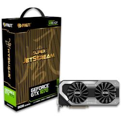 PALIT GTX 1070 JETSTREAM 8GB GDDR5 | Quonty.com | NE51070015P2J