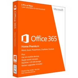 SOFTW MICROSOFT OFFICE HOME 32/64BITS SPANISH | Quonty.com | 6GQ-00772
