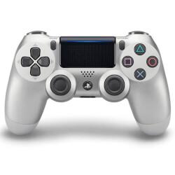 GAMEPAD ORIGINAL SONY PS4 DUALSHOCK PLATEADO V.2 | Quonty.com | 9895756