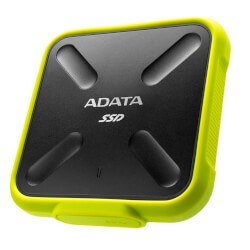 HD EXT USB 3.1 2.5 SSD 256GB ADATA SD700 YELLOW | Quonty.com | ASD700-256GU3-CYL