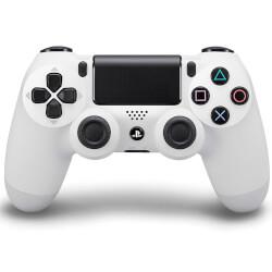 GAMEPAD ORIGINAL SONY PS4 DUALSHOCK BLANCO V.2 | Quonty.com | 9894452