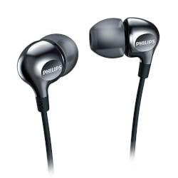 AURICULARES PHILIPS SHE3700BK/00 NEGRO | Quonty.com | SHE3700BK/00