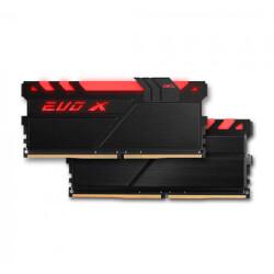 MODULO DDR4 8GB PC2400 GEIL EVO X BLACK | Quonty.com | GEXB48GB2400C16SC