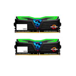MODULO DDR4 16GB (2X8GB) PC2400 GEIL SUPER LUCE BL | Quonty.com | GLG416GB2400C16DC