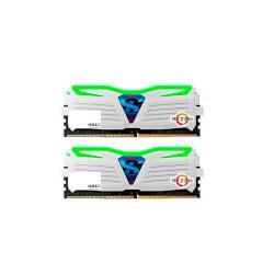 MODULO DDR4 16GB (2X8GB) PC2400 GEIL SUPER LUCE WH | Quonty.com | GLWG416GB2400C16DC
