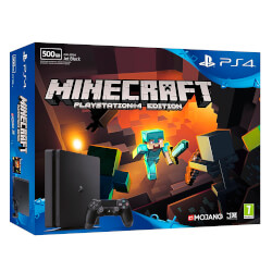 VIDEOCONSOLA SONY PS4 500GB SLIM + MINECRAFT | Quonty.com | 9878261