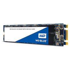 HD M2 SSD 500GB SATA3 WD BLUE 3D NAND | Quonty.com | WDS500G2B0B