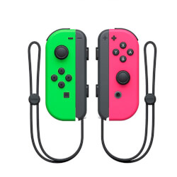 GAMEPAD ORIGINAL NINTENDO SWITCH JOY-CON VERDE/ROS | Quonty.com | 2512366