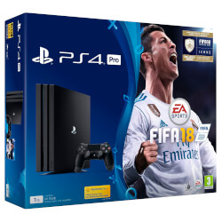 VIDEOCONSOLA SONY PS4 1TB + FIFA 18 + PS PLUS 14D | Quonty.com | 9912668