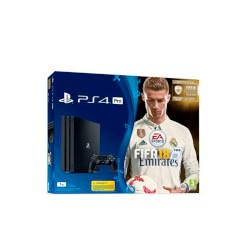 VIDEOCONSOLA SONY PS4 PRO 1TB+ FIFA 18+PS PLUS 14D | Quonty.com | 9913863
