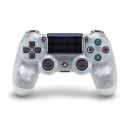 GAMEPAD ORIGINAL SONY PS4 DUALSHOCK BLANCO CRYSTAL | Quonty.com | 9875963