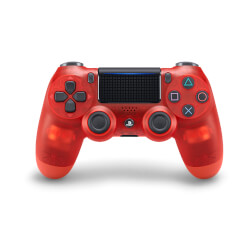 GAMEPAD ORIGINAL SONY PS4 DUALSHOCK ROJO CRYSTAL | Quonty.com | 9868866