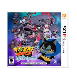 JUEGO NINTENDO 3DS YOKAI WATCH 2: MENTESPECTROS | Quonty.com | 2238181