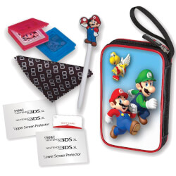 KIT ACCESORIOS NINTENDO NEW 2DS/3DS MARIO | Quonty.com | KIT2DS