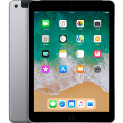 APPLE IPAD 2018 9.7 128GB WIFI CELL SPACE GRIS   Quonty.com   MR722TY/A