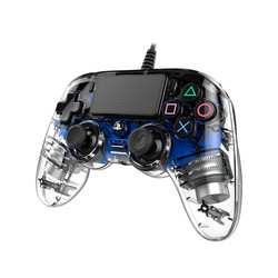 GAMEPAD NACON PS4 CRISTAL AZUL | Quonty.com | PS4OFCPADCLBLUE