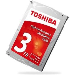 Hdd Toshiba 3.5'' 3tb 7200rpm 64mb Sata3 P300 | Quonty.com | HDWD130UZSVA