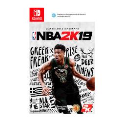 JUEGO NINTENDO SWITCH NBA 2K19 | Quonty.com | NBA2K19SW