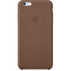 FUNDA APPLE PARA IPHONE 6 PLUS MARRÓN OLIVA | Quonty.com | MGQR2ZM/A