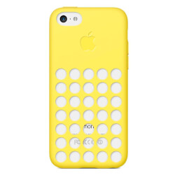 FUNDA APPLE PARA IPHONE 5C AMARILLA | Quonty.com | MF038ZM/A