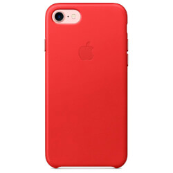 FUNDA APPLE PARA IPHONE 7 CUERO ROJO (PRODUCT)RED | Quonty.com | MMY62ZM/A