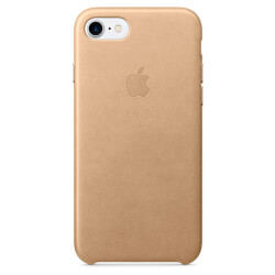 FUNDA APPLE PARA IPHONE 7 CUERO CANELA | Quonty.com | MMY72ZM/A