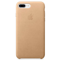 FUNDA APPLE PARA IPHONE 7 PLUS CUERO CANELA | Quonty.com | MMYL2ZM/A