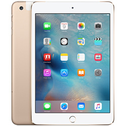 IPAD MINI 4 16GB WIFI+CELL 7.9'' DUALCORE 2GB+16GB 4G IOS10 GOLD | Quonty.com | MK712TY/A