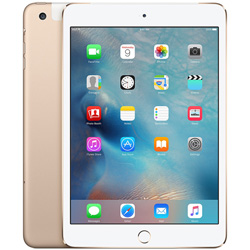 IPAD MINI 4 32GB WIFI+CELL 7.9'' DUALCORE 2GB+32GB 4G IOS10 GOLD | Quonty.com | MNWG2TY/A