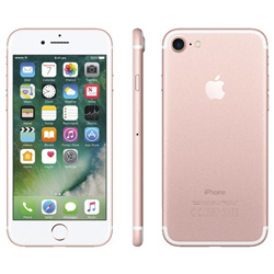 APPLE IPHONE 7 128GB 4.7''IPS QUADCORE 2GB/128GB 4G 7/12MPX 1SIM IOS10 ORO ROSA | Quonty.com | MN952QL/A