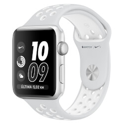APPLE WATCH NIKE+ 42MM CON CORREA SPORT PURO/BLANCA | Quonty.com | MQ192QL