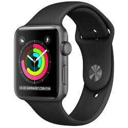 APPLE WATCH SPORT SERIES 1 38MM GRIS ESPACIAL | Quonty.com | MP022QL/A