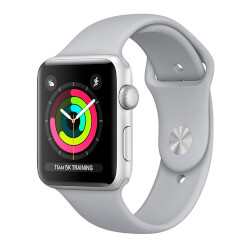 APPLE WATCH S3 42MM CON CORREA DEPORTIVA GRIS LUMINOSO | Quonty.com | MQL02QL/A