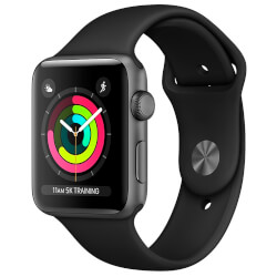 APPLE WATCH S3 42MM CON CORREA DEPORTIVA GRIS | Quonty.com | MR362QL/A