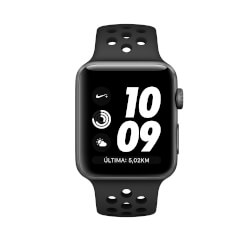 APPLE WATCH S3 NIKE+ (GPS) 42MM CON CAJA ALUMINIO GRIS | Quonty.com | MQL42QL/A
