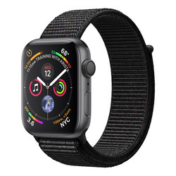 RELOJ INTELIGENTE APPLE WATCH SERIES 4 GPS NEGRO | Quonty.com | MU6E2TY/A
