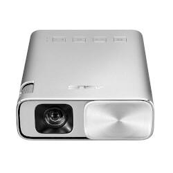 PROYECTOR DE BOLSILLO ASUS ZENBEAM E1 - 854X480 WXGA - 150 LUMENES ANSI - 3500:1 - HDMI/MHL - ALTAVOZ 2W - BAT 6000MAH | Quonty.com | ZENBEAM E1