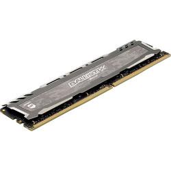 MEMORIA CRUCIAL DIMM DDR4 16GB 2400MHZ (PC4-19200) CL16 BALLISTIX SPORT LT GRIS | Quonty.com | BLS16G4D240FSB
